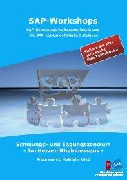 SAP-Workshops - iCAS AG