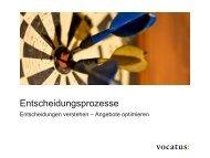 Seminarbeschreibung herunterladen - Vocatus AG