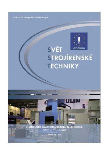 Svět strojírenské techniky číslo 4/2008 (PDF, 2.86 MB) - Svaz ...