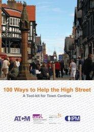 100 Ways to Help the High Street - Northampton Borough Council
