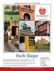 Park Slope Neighborhood Profile - Big Apple Greeter