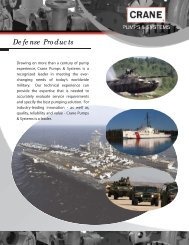 Defense Products - Crane Pumps & Systems
