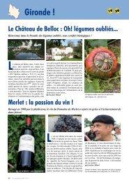 Gironde ! - Le Canard Gascon