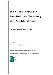 Dr. med. Thomas Becker MBA - Vogelsbergkreis