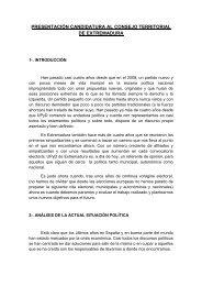 presentación candidatura al consejo territorial de extremadura - UPyD