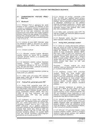 ČÁST I – DÍL 8 - HLAVA 4 PŘEDPIS L 8168 6.5.2010 I-8-4-1 Změna ...