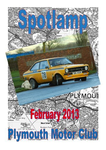 February - Plymouth Motor Club
