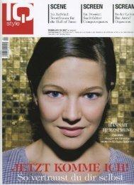 Coverstory & Interview mit Hannah Herzsprung zu - Filmjournalist.de
