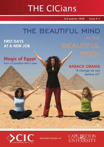 THE CICians THE BEAUTIFUL MIND BEAUTIFUL BODY