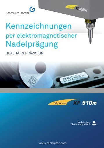 XF510m leaflet - Technifor