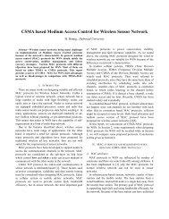 CSMA based Medium Access Control for Wireless Sensor Network