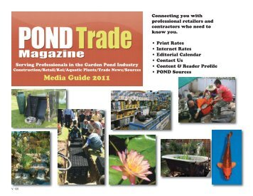 Media Guide 2011 - Pond Trade Magazine