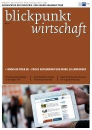 Blickpunkt Wirtschaft / Ausgabe März 2012 - Suite au Chocolat