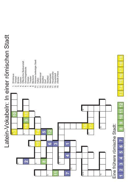 Kreuzworträtsel Variante