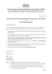 Payment 2007-8 - Federation of Hotel and Restaurant Associations ...