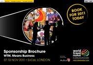 Sponsorship Brochure - World Travel Market