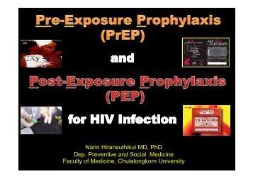 Pre-Exposure Prophylaxis PrEP