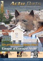 Actu Darts 20 NM 21-1 -BAT rvb - Fédération Française de Darts