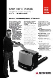 Descargar Catálogo Serie PBP13-20M(R) - Fersa Reparaciones