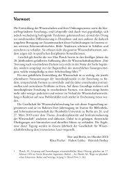 Vorwort - Gesellschaft für Wissenschaftsforschung