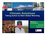 Patrick Mazza - Climate Solutions - Mazamas