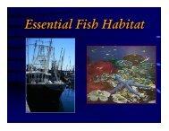Essential Fish Habitat - Mississippi-Alabama Sea Grant Legal Program