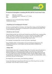 KMV vom 25.04.2012 - Bündnis 90/Die Grünen, Kreisverband Verden