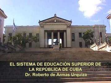 Presentación PowerPoint sobre el estado de situación del Sistema ...