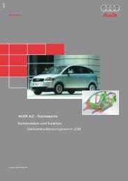 AUDI A2 - Karosserie Selbststudienprogramm 239 ... - VolksPage.Net