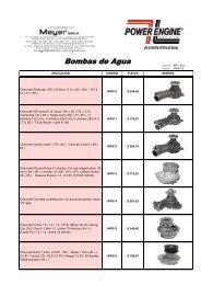 Bombas de Agua - Meyer SACIF