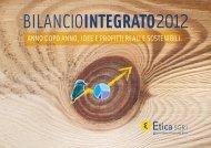 Bilancio Integrato 2012 - Etica SGR