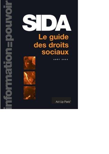 Sida, le Guide des droits sociaux - Sida Studi