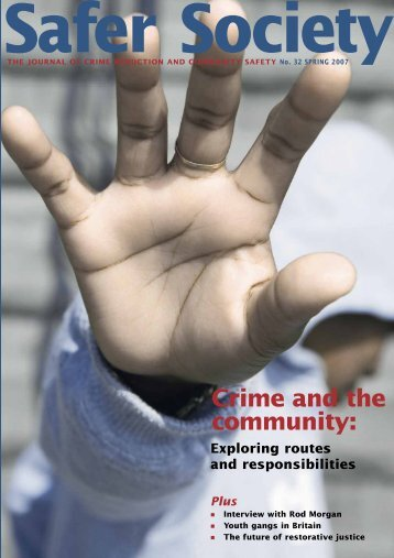 Crime and the community: - Nacro