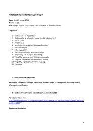 Referat fra FU møde den 15. januar 2014 - Nyreforeningen