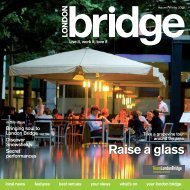 London Bridge magazine autumn / winter 2008/9 (issue 5)