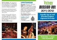 MISSION-NET 2011/2012