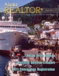 2011 June Newsletter - Alaska Association of Realtors