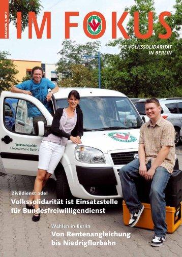 Volkssolidarität ist Einsatzstelle für Bundesfreiwilligendienst Von ...