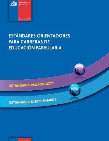 estándares orientadores para carreras de educación ... - Emol.com