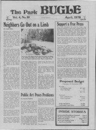 April 1978 - Park Bugle