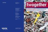 2 Voith Paper Sonderdruck aus twogether 28 I Weltweiter Service für ...