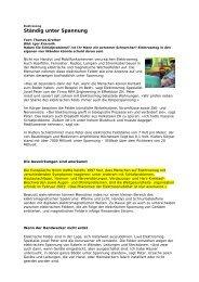 Elektrosmog - Interessengemeinschaft Vorsicht Hochspannung
