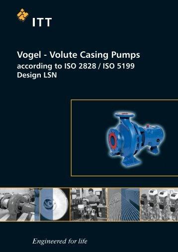 Volute Casing Pumps - Xylem Water Solutions Austria