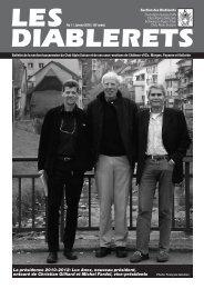 Janvier 2010 - Club Alpin Suisse - Section des Diablerets
