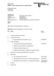 Referat af møde i Taxa-nævnet den 24 - Vordingborg Kommune