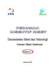 Pedoman Insentif Riset Edisi-5 - Lembaga Penelitian dan ...