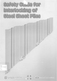 Use of Sheet Pile Threaders