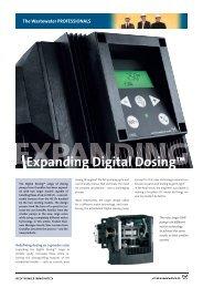Expanding Digital Dosing™ - Grundfos E-Newsletter