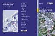 Service-Center Ravensburg Voith Paper Fiber Systems