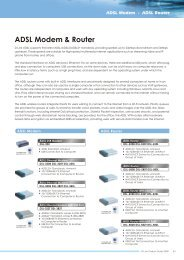 ADSL Modem & Router - Icecat.biz